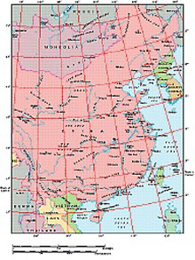 Frontiers Mac EPS map of China, Korea