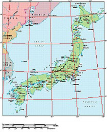 Frontiers Mac EPS map of Japan, Manchuria