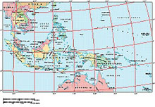 Frontiers Mac EPS map of East Indies, Indonesia