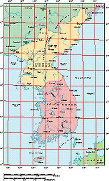 Frontiers Windows EPS map of  Korean Peninsular