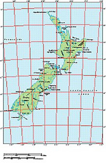 Frontiers Mac EPS map of New Zealand