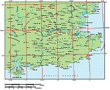 Frontiers Mac EPS map of British Isles - South East England