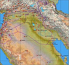 Iraq Map Package #321
