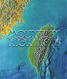 Taiwan (Formosa) Map Package #308
