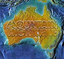 Australia Map Package #402