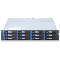 DSN-5110-10 xStack Storage 4X1GBE H.A. Capable ISCSI SAN Array, 12 Bays, 2U Rackmount, w/ Primary Controller, w/o Drives, With Trays