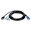 10ft 4-in-1 PS2/USB KVM Cable