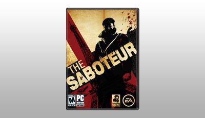Online Game, Video Game, PC, The Saboteur Digital Download