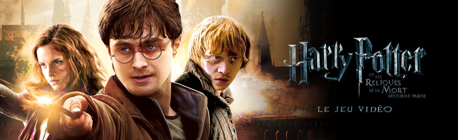 harry potter and the deathly hallows part 2 video game cover. UniversHarryPotter.c April 21