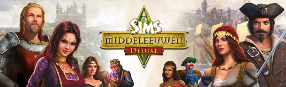 De Sims Middeleeuwen Delux Pakket