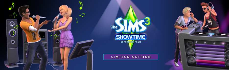 The Sims™ 3 Showtime Limited Edition