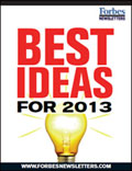 Single Issue: Forbes Special Report: Best Ideas for 2013