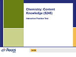 Chemistry: Content Knowledge (5245), 90-Day Subscription