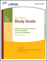English Language, Literature, and Composition: Content and Analysis Study Guide (5044) eBook