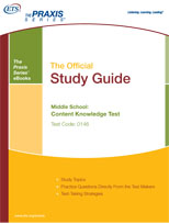 Middle School: Content Knowledge Study Guide (0146, 5146) eBook