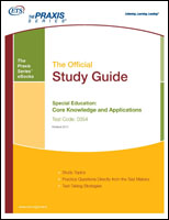 Special Education: Core Knowledge and Applications Study Guide, Rev 2011 (5354) eBook