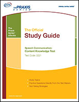 Speech Communication: Content Knowledge Study Guide (0221, 5221) eBook