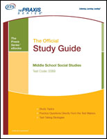 Middle School Social Studies Study Guide (5089) eBook