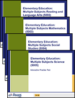 Value Pack: Elementary Education: Multiple Subjects — Form 1, 90-Day Subscription
