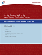 Practice Question eBook for the TExES™ Music EC–12 – Includes Audio Files (Test Code 177)