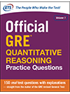 Official GRE® Quantitative Reasoning Practice Questions, Volume One