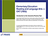 Elementary Education: Reading and Language Arts—CKT (7802), 90-Day Subscription