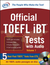 Official TOEFL iBT® Tests with Audio, Volume 1