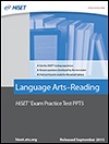 Language Arts–Reading: Practice Test PPT5 eBook