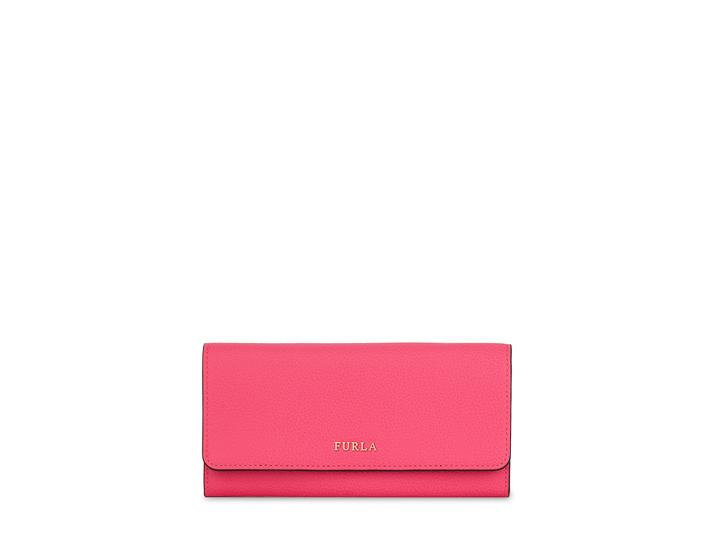 はっきりしたピンクのお財布♡