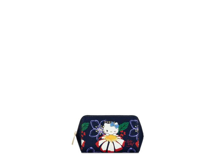 Kitty Cosmetic Case M Toni Blu Furla 9p77spXmW