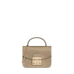 Vanitas Mini Shoulder Bag Color Gold Furla r0gCvT