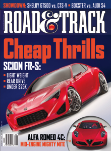 Road & Track August 2011