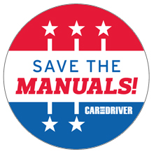Save the Manuals! Decal