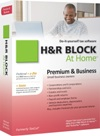 H&R Block At Home 10 Premium + Business