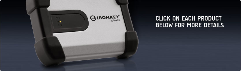IronKey™ H100 External Hard Drive