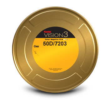 KODAK VISION3 50D Color Negative Film 7203 / 16 mm x 400 ft / On Core / Winding B / 1R-2994, Catalog # 8003642