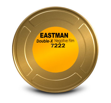 EASTMAN DOUBLE-X Black & White Negative Film 5222 / 35 mm × 400 ft / On Core / BH-1866, Catalog # 1737279