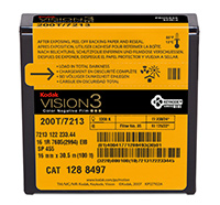 KODAK VISION3 200T Color Negative Film 7213 / 16 mm x 100 ft / Camera Spool / Winding B / 1R-2994, Catalog #1288497