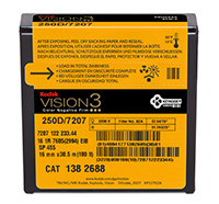 KODAK VISION3 250D Color Negative Film 7207 / 16 mm x 100 ft / Camera Spool / Winding B / 1R-2994, Catalog # 1382688
