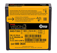 KODAK VISION3 50D Color Negative Film 7203 / 16 mm x 100 ft / Camera Spool / Winding B / 1R-2994, Catalog # 8003634