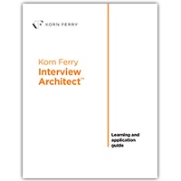 Korn Ferry Online Store - Korn Ferry Interview Architect™ Learning ...