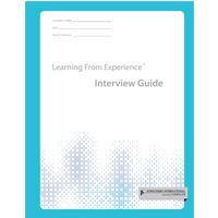 Learning From Experience™ (LFE) Interview Guide (Pkg of 10)