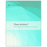 Team Architect® Sort Cards Quick Reference Guide