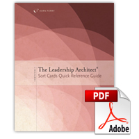 Leadership Architect® Sort Card Quick Reference Guide (PDF)