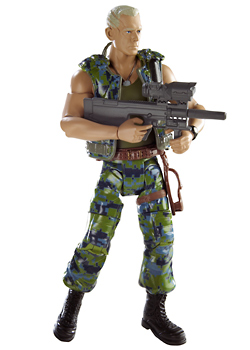 MOVIE MASTERS™ Colonel Miles Quaritch Figure