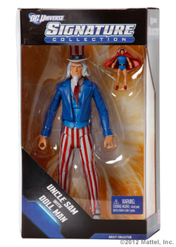 <strong><em>Uncle Sam with Doll Man </em></strong>Figures