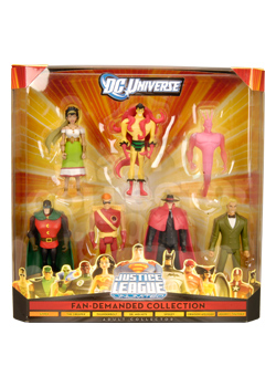 <em>Justice League Unlimited</em> 7-Pack