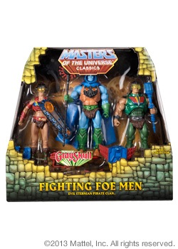 Fighting Foe Men™ 3-Pack