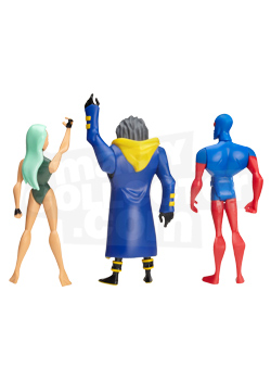 <strong>3-Pack Featuring<em> Future Static / Aquagirl / Micron Figures</em></strong>