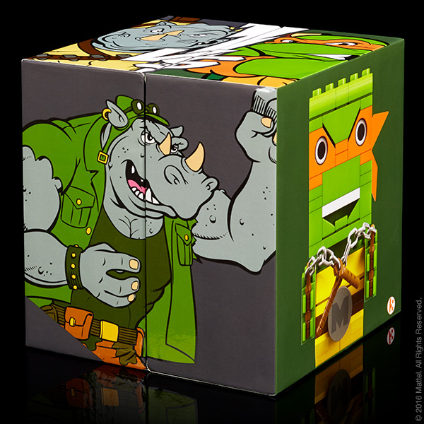 Kubros TMNT Michelangelo™ vs. Rocksteady™ Special Edition Set